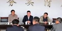 呼市环保局局长东升调研帮扶村产业脱贫工作 - 环保局厅