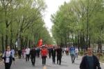 第十届全区全民健身运动会徒步接力活动在兴安盟举办 - 正北方网