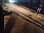 市环保局、城管执法局对 回民区道路施工工地扬尘污染防治情况 开展联合执法检查 - 环保局厅