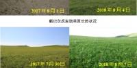 内蒙古自治区草原牧草长势监测报告(8月) - 农业厅