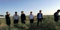 草原处吴宝山处在阿拉善盟开展草原生态保护修复调研工作 - 农业厅