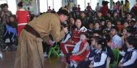 集宁乌兰牧骑文化惠民走基层活动走进幼儿园 - 正北方网