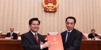 内蒙古自治区十三届人大常委会召开第十一次会议 李纪恒主持讲话并颁发任命书 - 正北方网