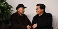 李纪恒走访慰问省级离退休老同志 祝老同志们新春吉祥健康长寿 - 正北方网