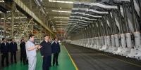 习近平在郑州考察制造业企业发展和黄河生态保护 - 正北方网