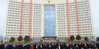 自治区各族各界代表庆祝中华人民共和国成立70周年升国旗仪式隆重举行 - Nmgcb.Com.Cn