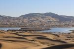 """【""""疫""""后花开迈向诗和远方】来阿拉善腾格里沙漠天鹅湖 一地玩转沙漠、戈壁、草原、绿洲、湖泊 - 新华网"""